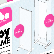 Fybo frames - Frame logos, informations and simulations - Fybo Creative