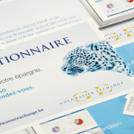 Carton annonce - Advertising cards - Goldwasser Exchange