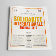 13ème Mois de la Solidarité Internationale - Festival programm - Commune d'Etterbeek