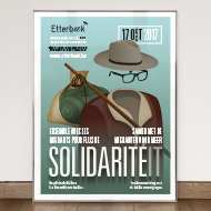 Solidarité(it) 2017 - Festival poster - Administration communale d'Etterbeek