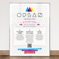 Oplan - Logo, identity, visit cards and displays - Oplan