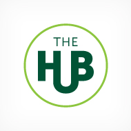 The Hub - Logo & Brochure - IVG Immobilier