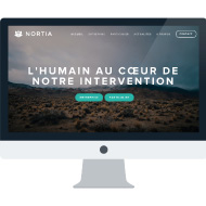 Nortia - Logo & Site web - Nortia